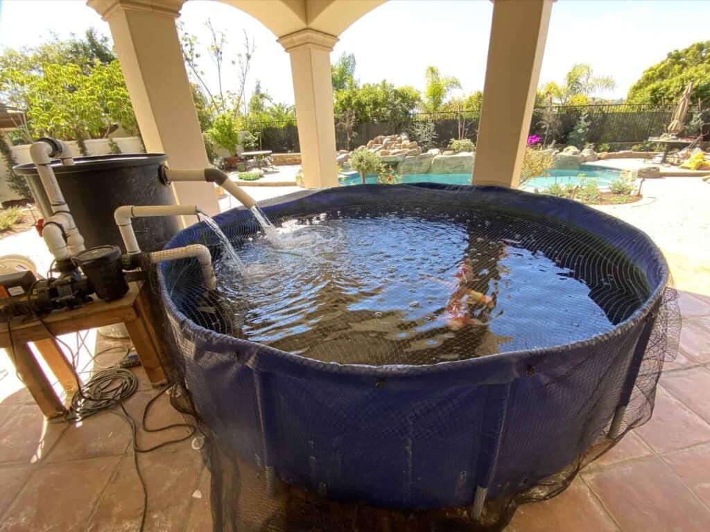 Concrete Pond & Fountain Repairs 1